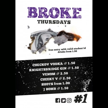 word up student thursday - BROKE