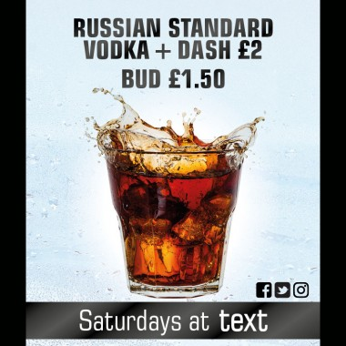 text drink promotions